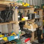 Extra storage around the Farm.